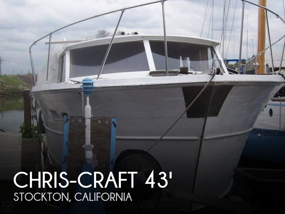 Used Boats For Sale in California by owner | 1968 Chris-Craft 43