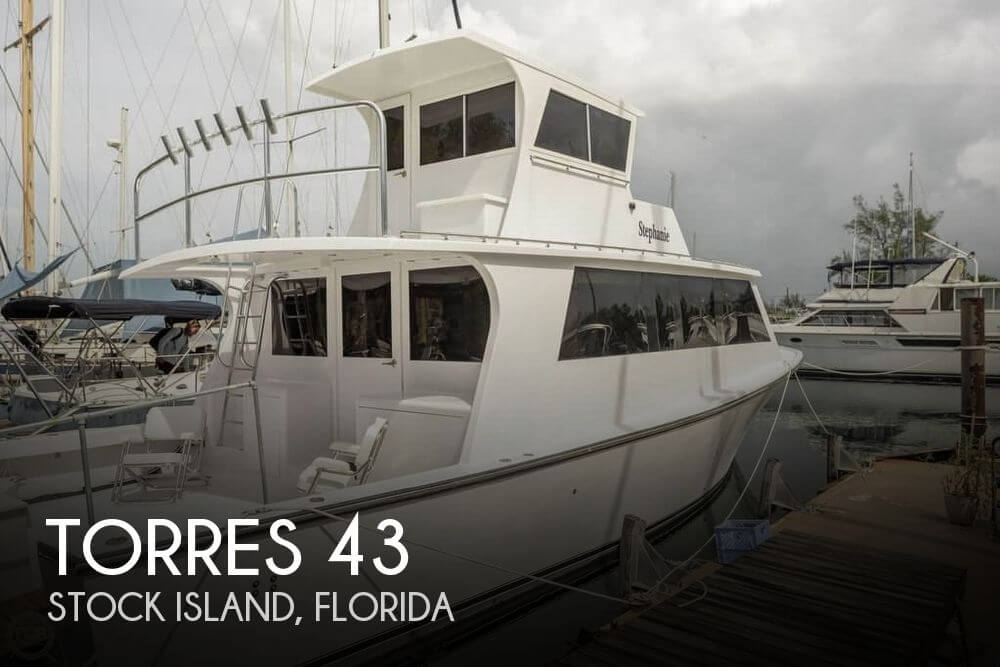 Used Fishing boats For Sale in Florida by owner | 1985 Torres 43