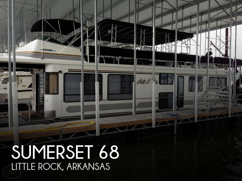 Used Houseboats For Sale in Arkansas by owner | 1995 Sumerset 68