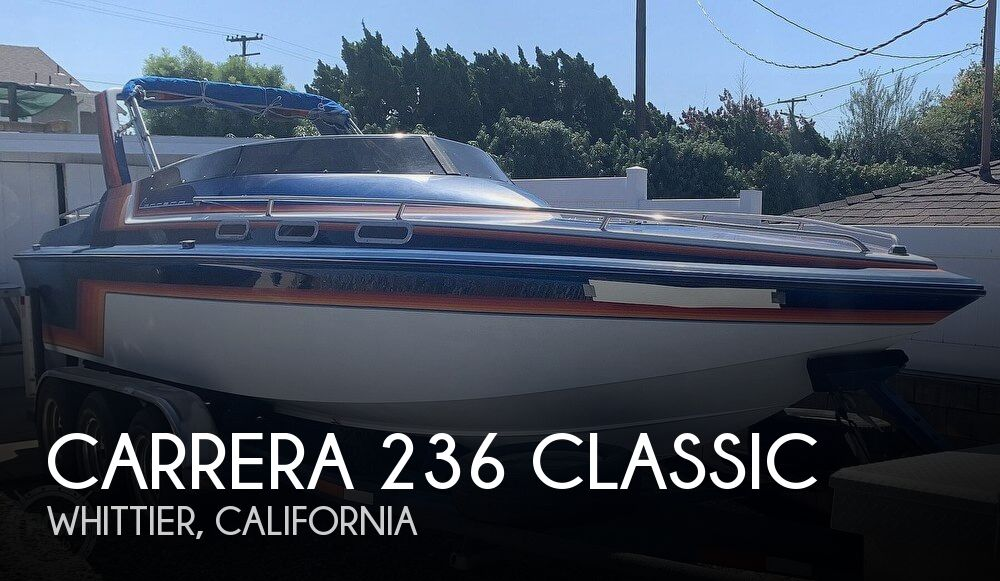 1988 Carrera boat for sale, model of the boat is 236 Classic & Image # 1 of 40