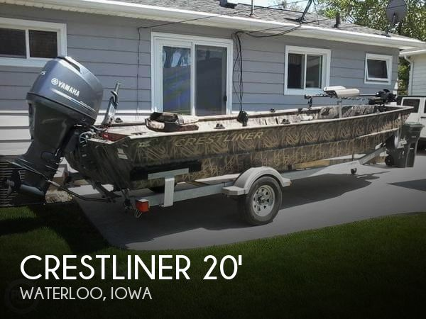 Used Boats For Sale in Cedar Rapids, Iowa by owner | 2015 Crestliner 20