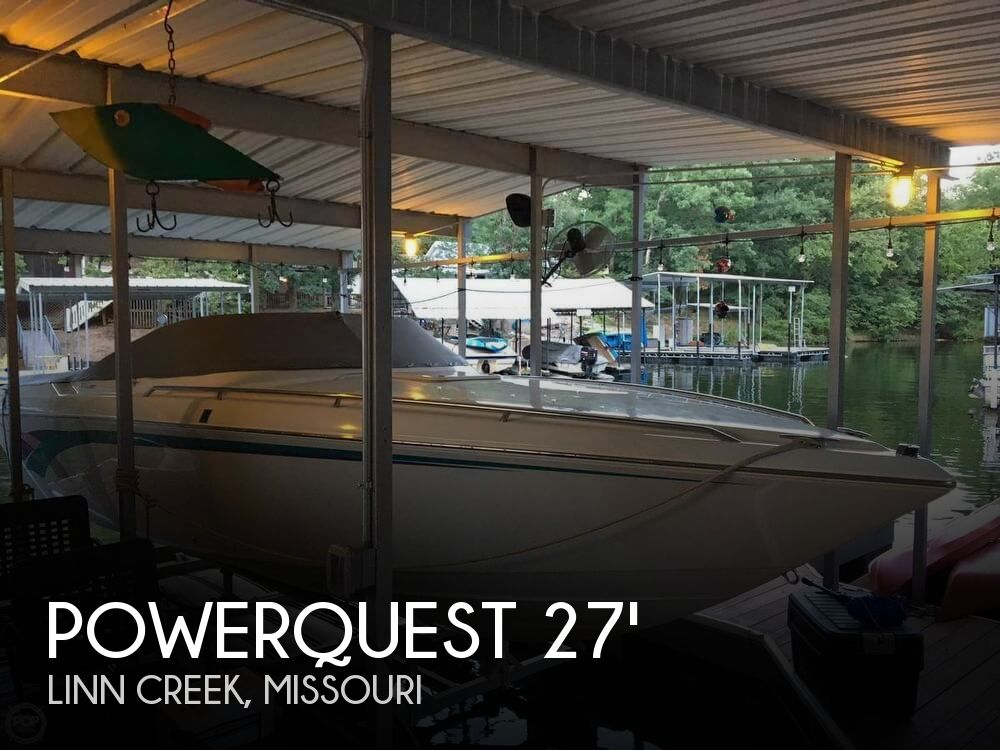 Used Powerquest Boats For Sale by owner | 1995 Powerquest 27