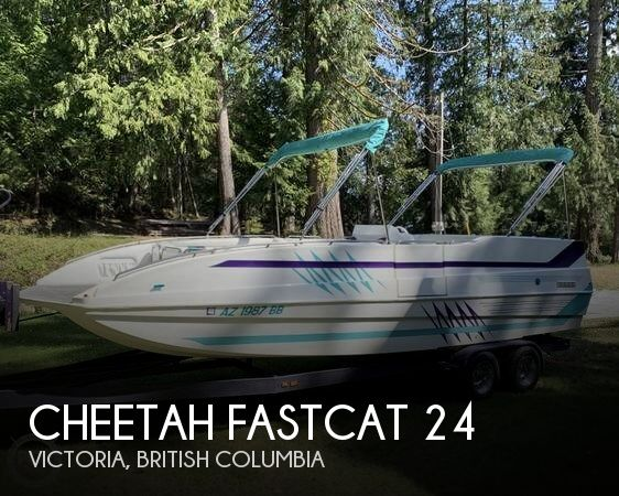 Used Cheetah Deck Boats For Sale by owner | 1999 Cheetah 24