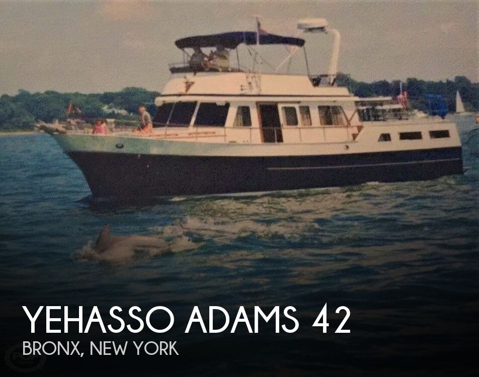 1982 Yehasso boat for sale, model of the boat is Adams 42 & Image # 1 of 40
