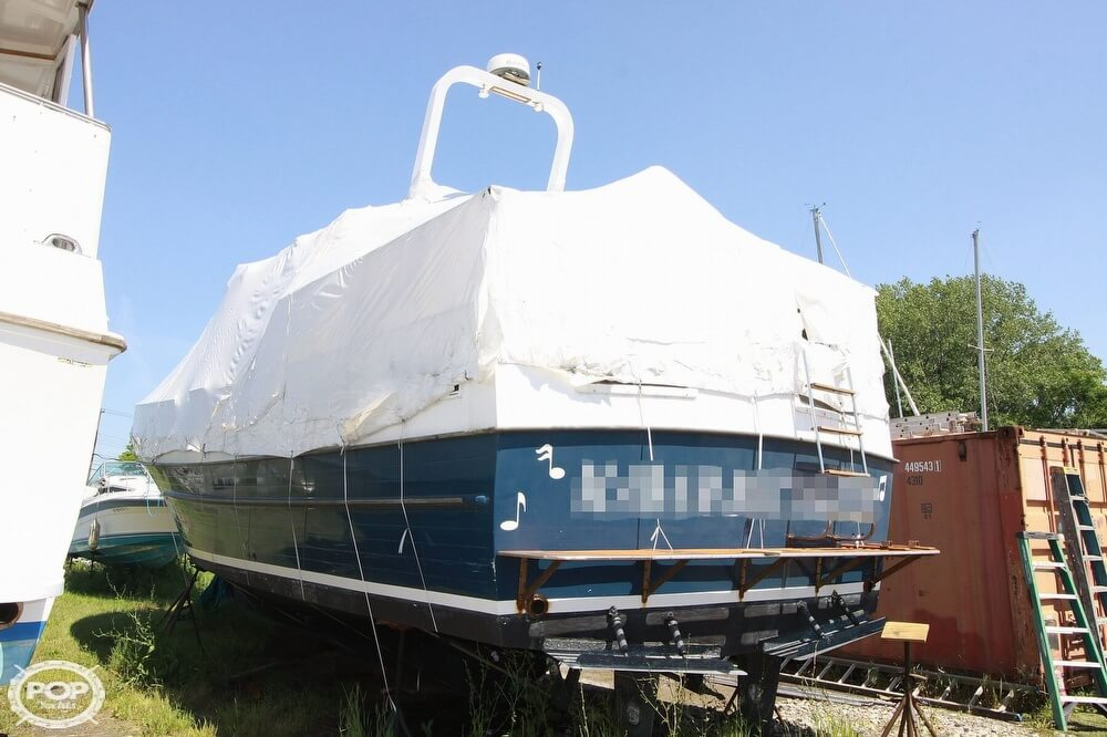 1982 Yehasso boat for sale, model of the boat is Adams 42 & Image # 3 of 40