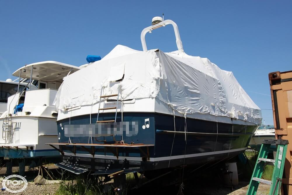 1982 Yehasso boat for sale, model of the boat is Adams 42 & Image # 5 of 40