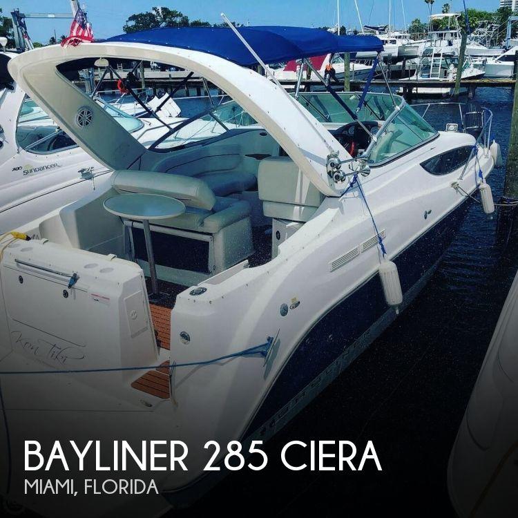 Used Bayliner ciera Boats For Sale by owner | 2007 Bayliner 285 Ciera