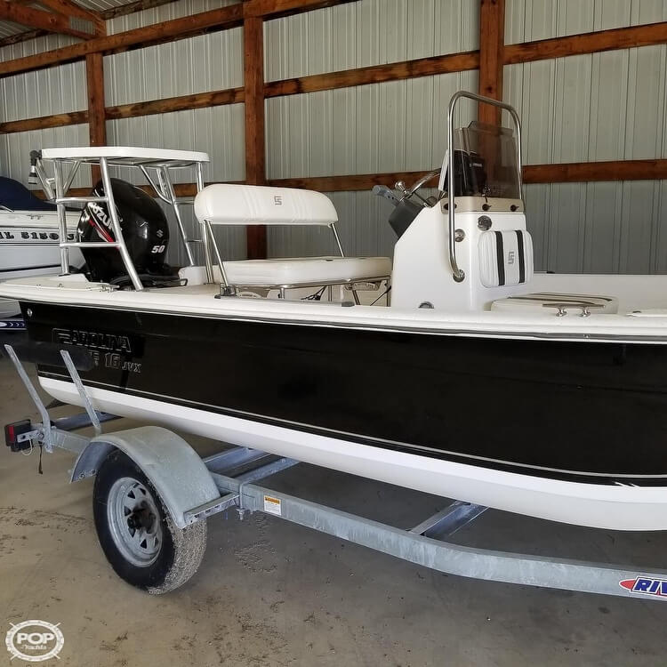 2012 Carolina Skiff boat for sale, model of the boat is 16JVX & Image # 13 of 40