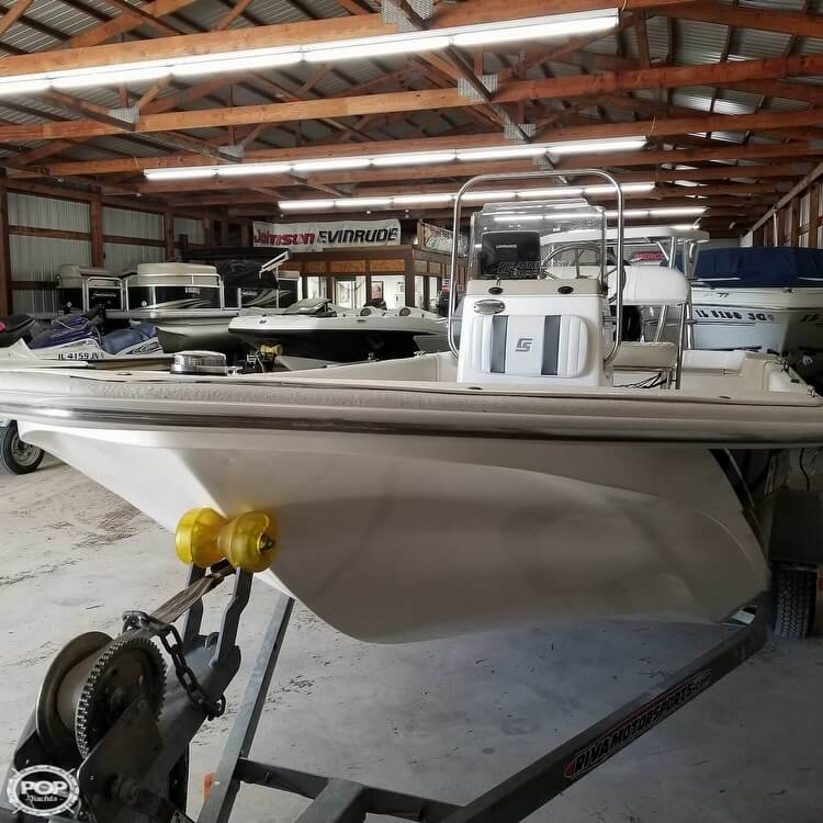 2012 Carolina Skiff boat for sale, model of the boat is 16JVX & Image # 29 of 40