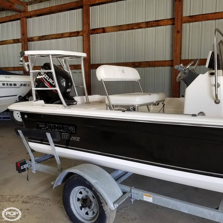 2012 Carolina Skiff boat for sale, model of the boat is 16JVX & Image # 10 of 40