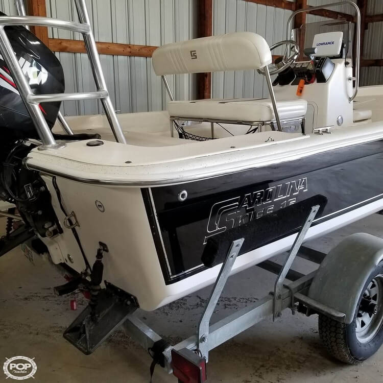 2012 Carolina Skiff boat for sale, model of the boat is 16JVX & Image # 9 of 40