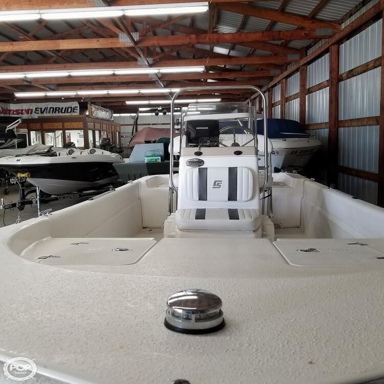 2012 Carolina Skiff boat for sale, model of the boat is 16JVX & Image # 36 of 40