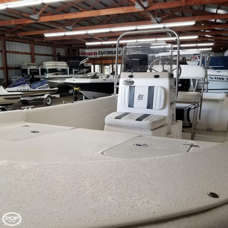 2012 Carolina Skiff boat for sale, model of the boat is 16JVX & Image # 37 of 40