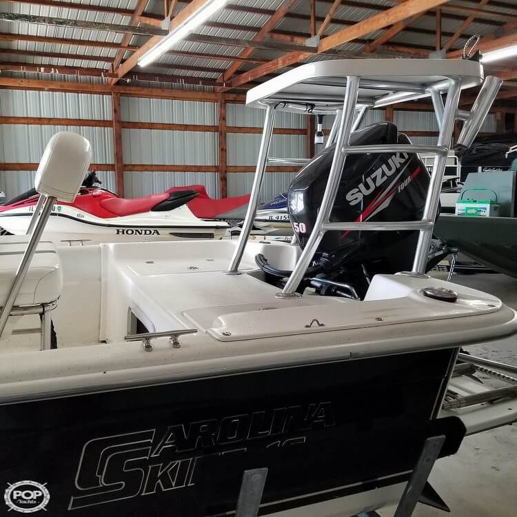2012 Carolina Skiff boat for sale, model of the boat is 16JVX & Image # 5 of 40