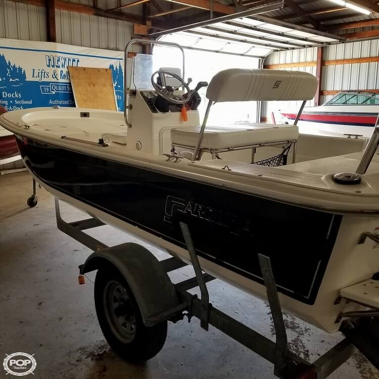 2012 Carolina Skiff boat for sale, model of the boat is 16JVX & Image # 3 of 40