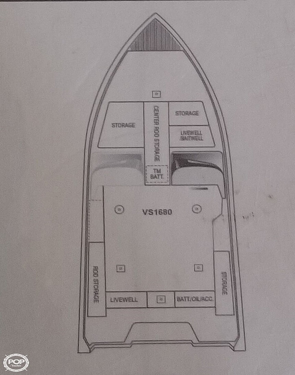 2015 Ranger Boats boat for sale, model of the boat is VS1680 SC & Image # 14 of 21