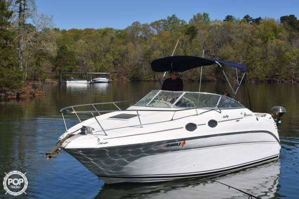 1999 Sea Ray boat for sale, model of the boat is 260 Sundancer & Image # 2 of 41