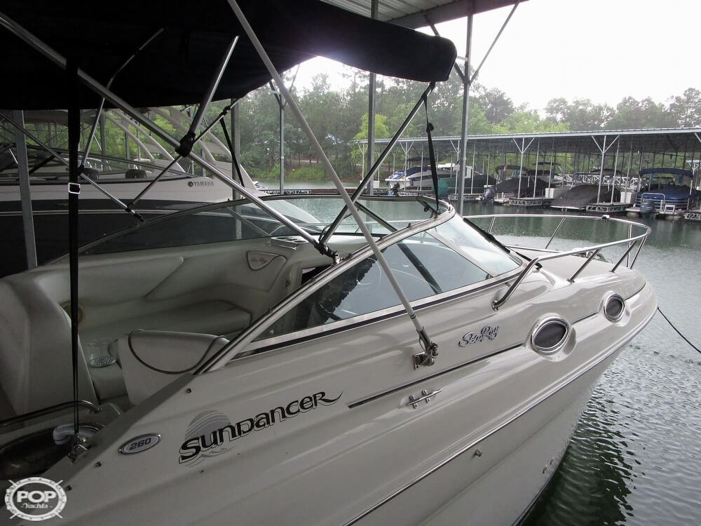 1999 Sea Ray boat for sale, model of the boat is 260 Sundancer & Image # 12 of 41