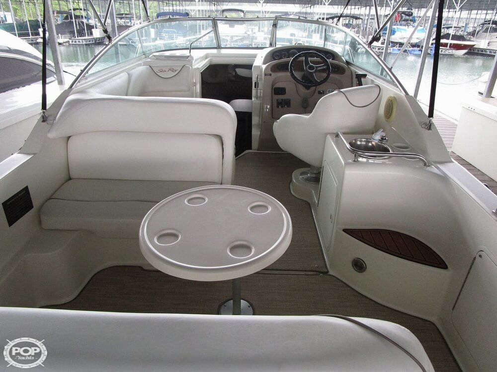 1999 Sea Ray boat for sale, model of the boat is 260 Sundancer & Image # 19 of 41