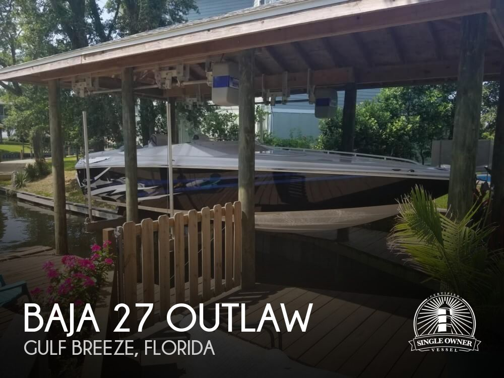 2019 Baja boat for sale, model of the boat is 27 Outlaw & Image # 1 of 41