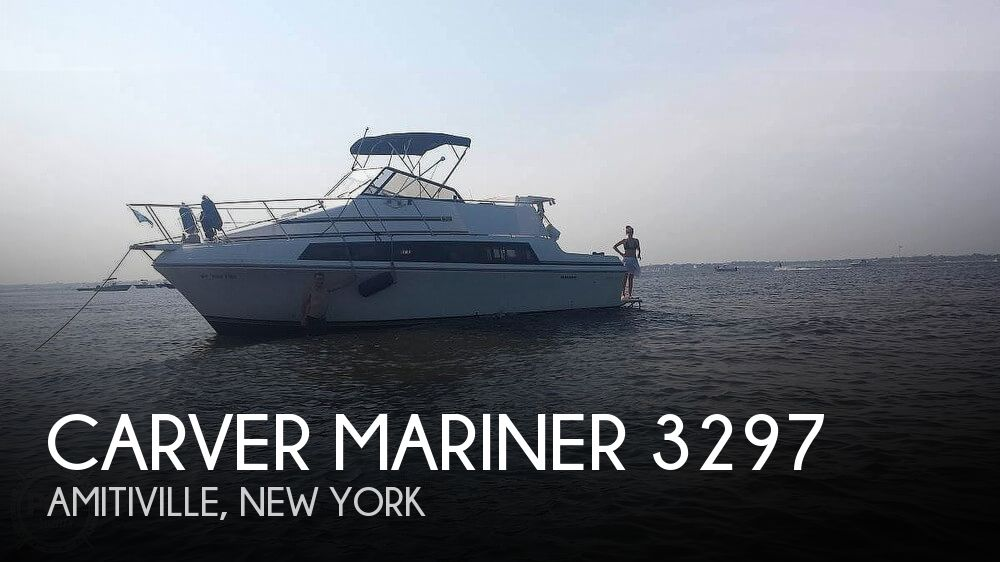 Used Carver Boats For Sale in New York by owner | 1988 Carver 32
