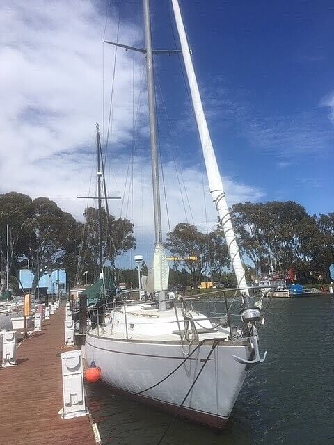 1978 CAL boat for sale, model of the boat is 39 MK II & Image # 4 of 40