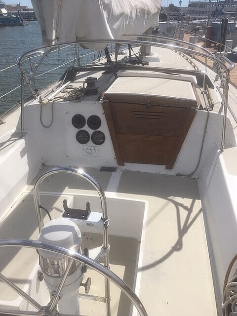 1978 CAL boat for sale, model of the boat is 39 MK II & Image # 5 of 40