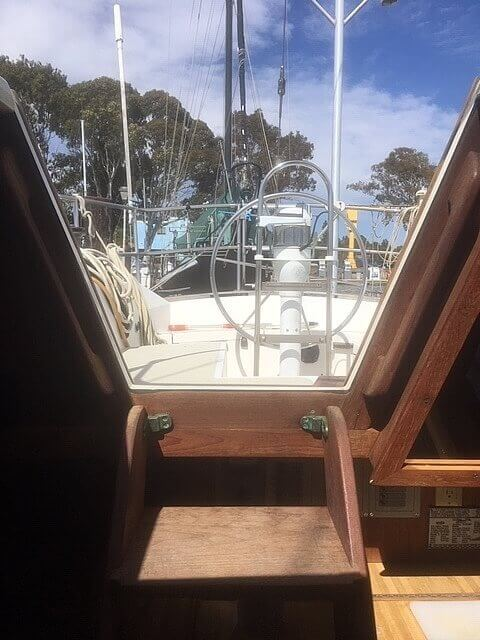 1978 CAL boat for sale, model of the boat is 39 MK II & Image # 6 of 40