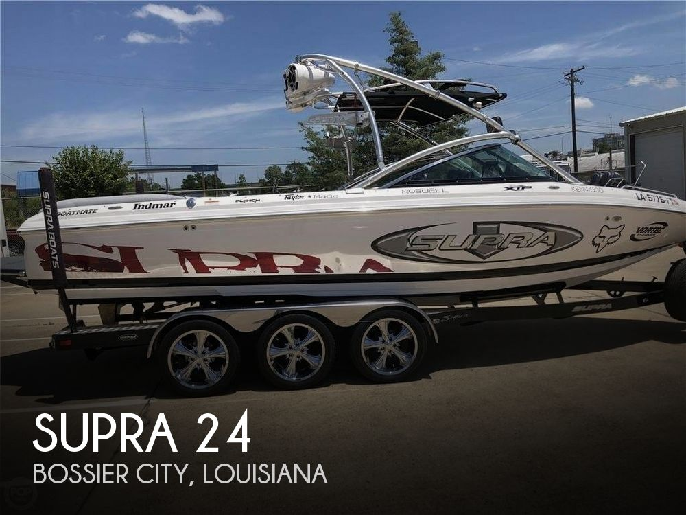 Used Boats For Sale in Longview, Texas by owner | 2008 Supra 24