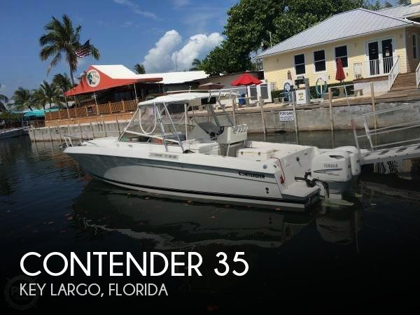 1995 Contender boat for sale, model of the boat is 35 & Image # 1 of 40