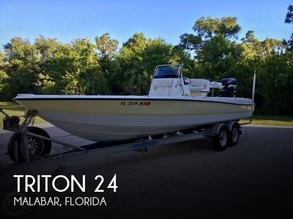 Used Triton  Boats For Sale by owner | 2005 Triton 24