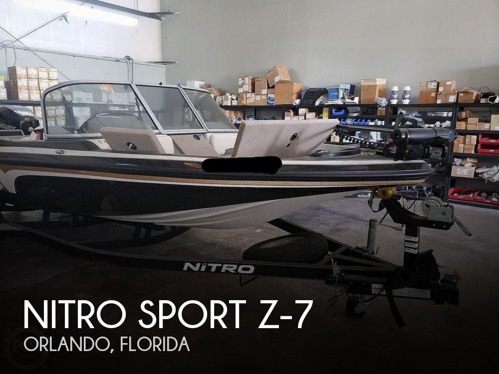Used NITRO Fishing boats For Sale by owner | 2015 Nitro 20