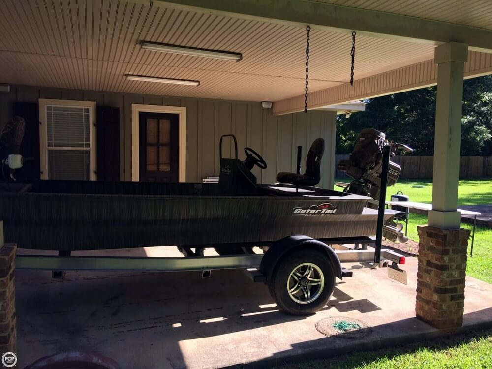 2017 Gator Tail boat for sale, model of the boat is GTB 1848 Tall Transom & Image # 8 of 23