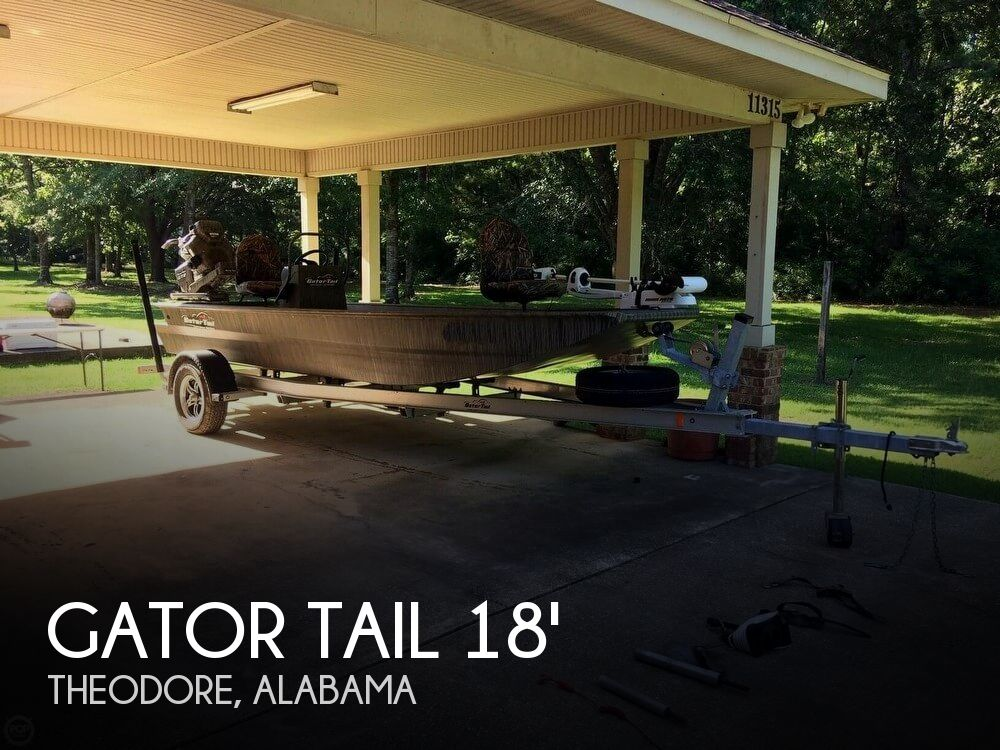 Used Gator Tail Boats For Sale by owner | 2017 Gator Tail GTB 1848 Tall Transom