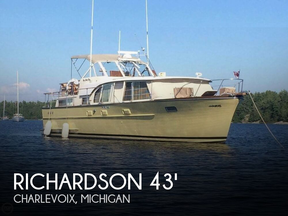 Used Motoryachts For Sale in Michigan by owner | 1960 Richardson 43