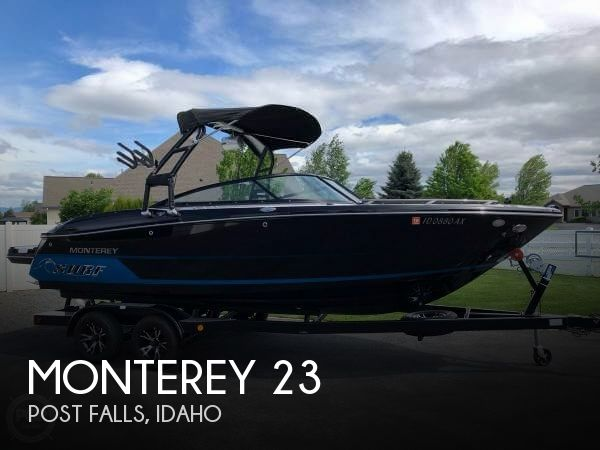 Used Boats For Sale in Spokane, Washington by owner | 2018 Monterey 23