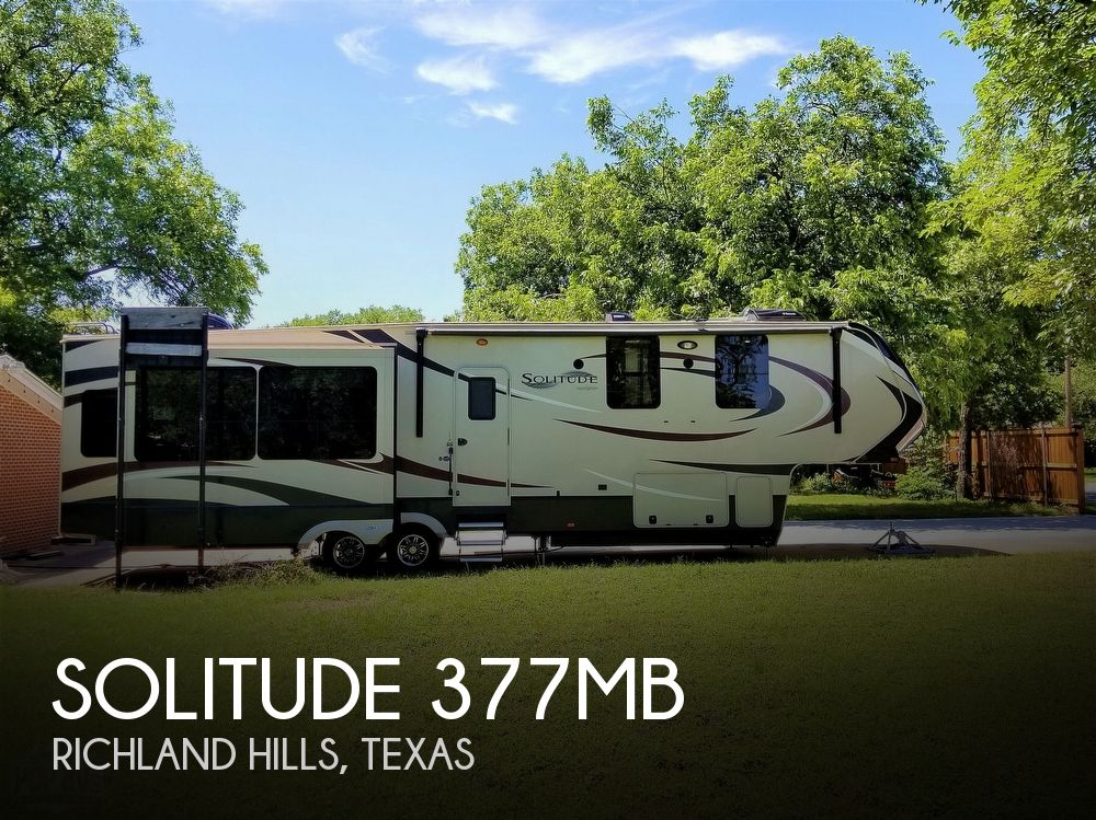 2016 Grand Design Solitude 377MB