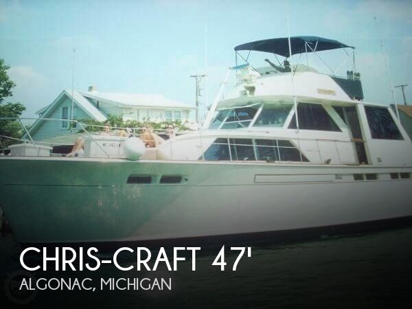 1972 Chris-Craft 47 Commander
