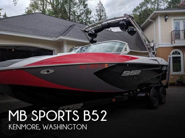 Used Ski Boats For Sale in Washington by owner | 2016 MB Sports 23