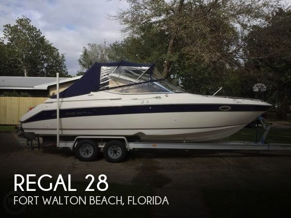 Used Regal 28 Boats For Sale by owner | 1999 Regal 28