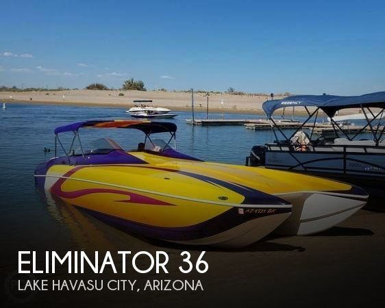 Used Boats For Sale in Arizona by owner | 2003 Eliminator 36