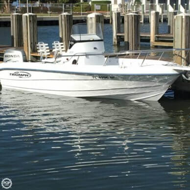 Triumph 195 CC, 20', for sale - $18,750