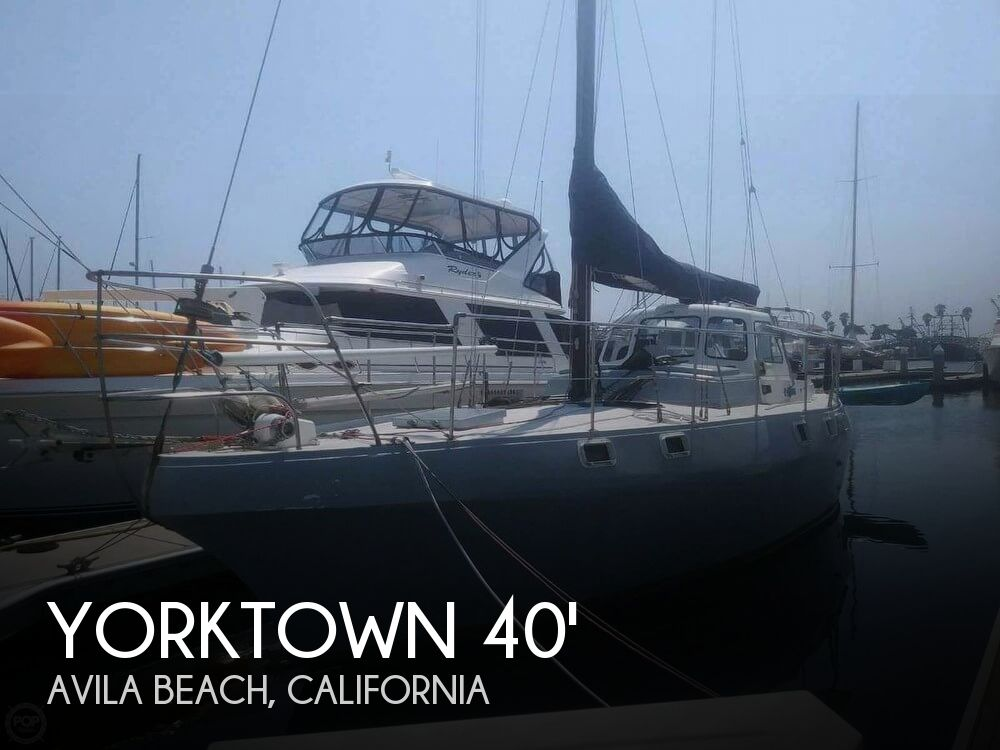 Used Boats For Sale in San Luis Obispo, California by owner | 1985 Yorktown 40