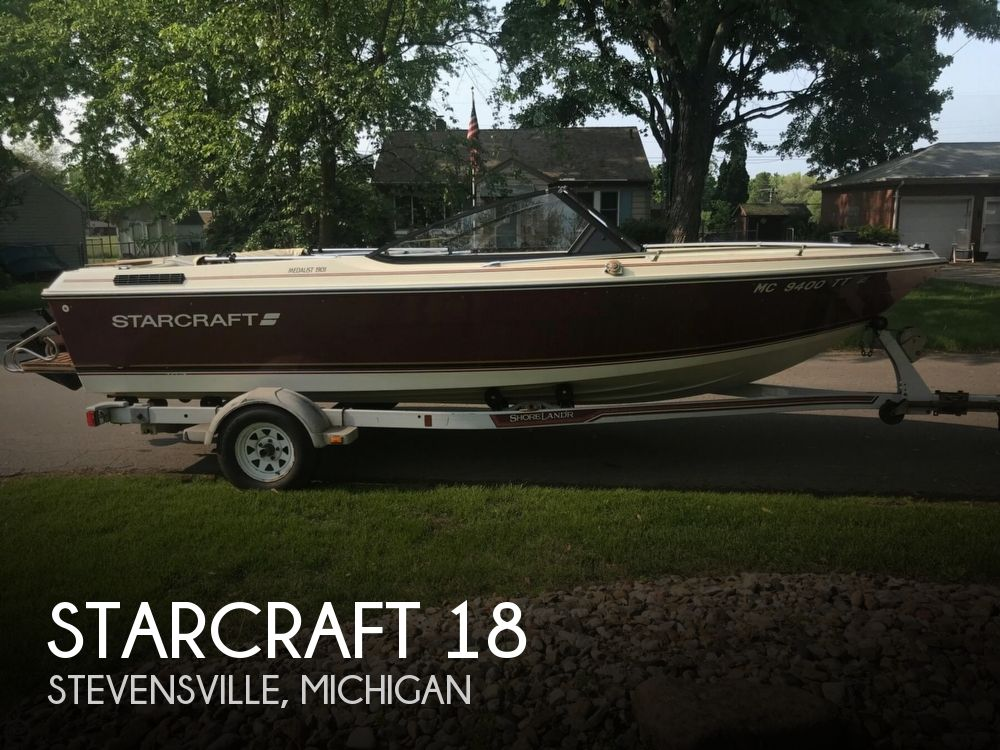Used Starcraft Boats For Sale in Michigan by owner | 1989 Starcraft 18