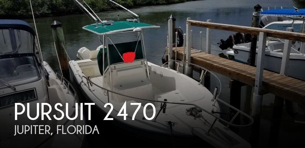 Used Pursuit Boats For Sale by owner   1998 Pursuit 24