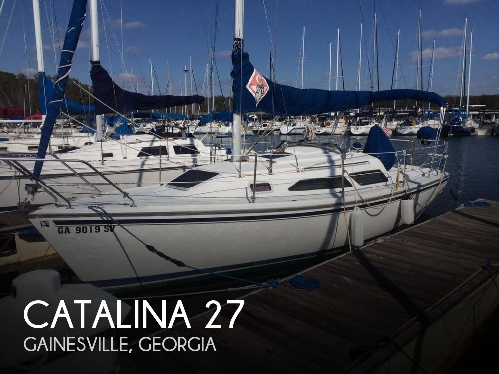 Used Sailboats For Sale in Georgia by owner | 1996 Catalina 27