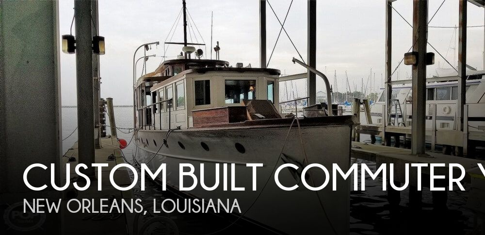 1929 Custom Built Commuter Yacht boat for sale, model of the boat is 73 & Image # 1 of 40