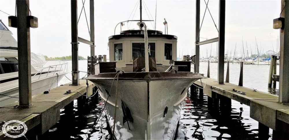 1929 Custom Built Commuter Yacht boat for sale, model of the boat is 73 & Image # 2 of 40