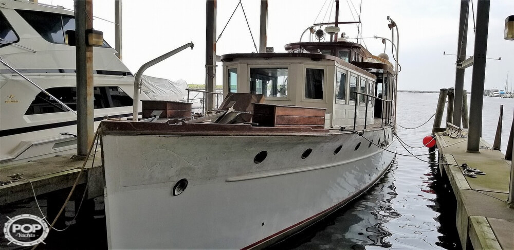 1929 Custom Built Commuter Yacht boat for sale, model of the boat is 73 & Image # 3 of 40