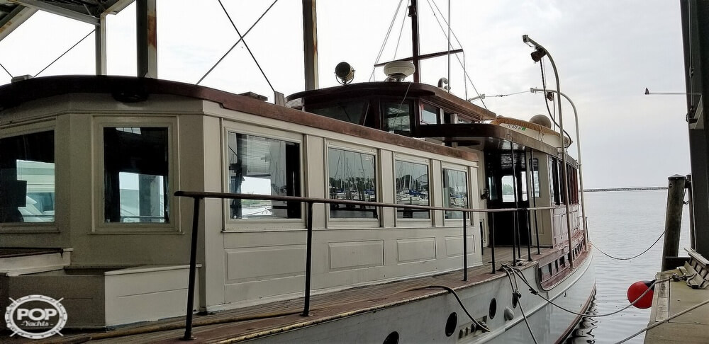 1929 Custom Built Commuter Yacht boat for sale, model of the boat is 73 & Image # 5 of 40